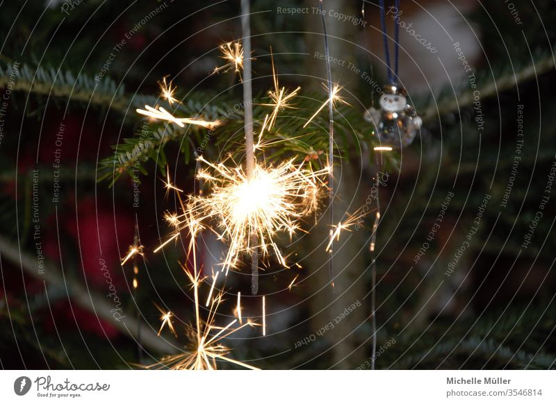 The sparks fly star projector Christmas & Advent Decoration Feasts & Celebrations Spark shower of sparks Festive