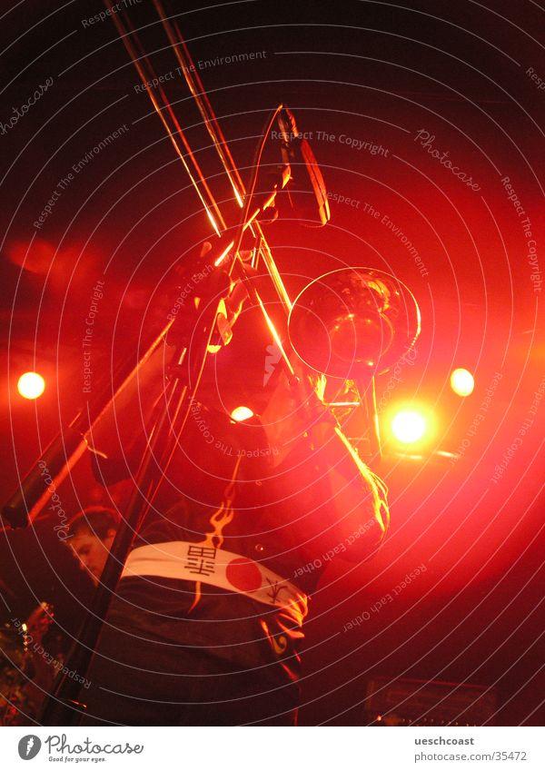 trombone Trombone Red Live Reggae Concert Music backlight String Loneliness