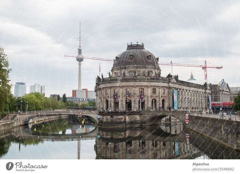 Berlin ball skewer Downtown Berlin Capital city Exterior shot Architecture Germany Berlin TV Tower Tourist Attraction Landmark Television tower Town