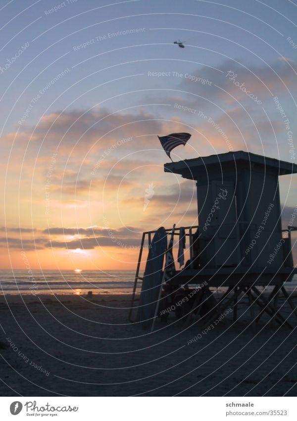 Ocean Beach Clouds California Surfboard