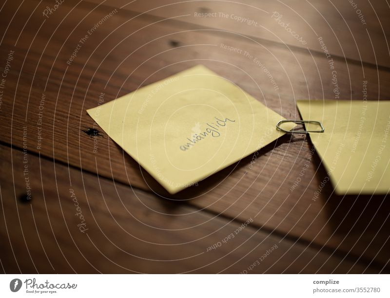 I am - affectionate property Character inner turmoil flaked Paper Emotions positive post it Crack & Rip & Tear me I am small Sour Eroded Insulted Bite bite off