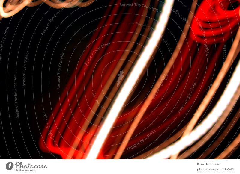 Stylish Stripe White Red Long exposure