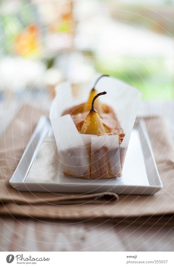 Fruit Nutrition Sweet Candy Delicious Cake Dessert Pear Slow food