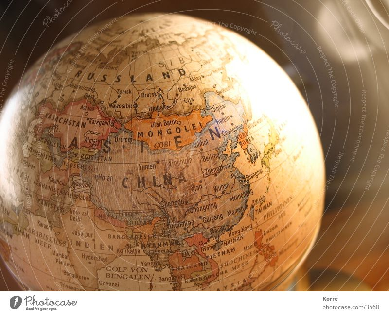 Vacation & Travel Brown Earth Earth Adventure Asia Things Sphere China Discover Universe Border Globe Map Navigation Planet