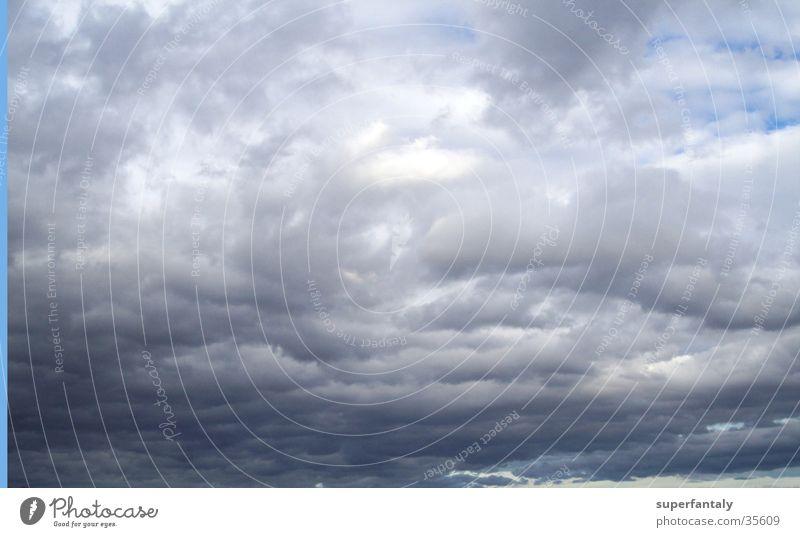 Sky Blue Clouds Dark Gray Bad weather Raincloud