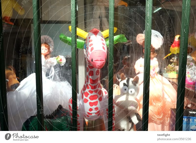 inflatable animal Load Shop doll Cuddly toy animals Toys Shop window Old Decoration Shopping children's toy second hand Second hand shop