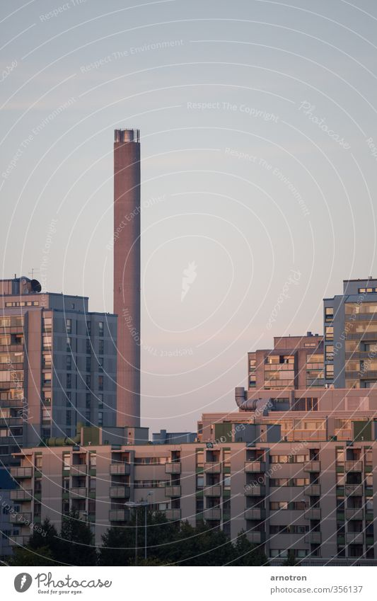 no smoking Helsinki Finland Town Capital city Skyline Deserted House (Residential Structure) High-rise Industrial plant Balcony Window Chimney Stone Concrete