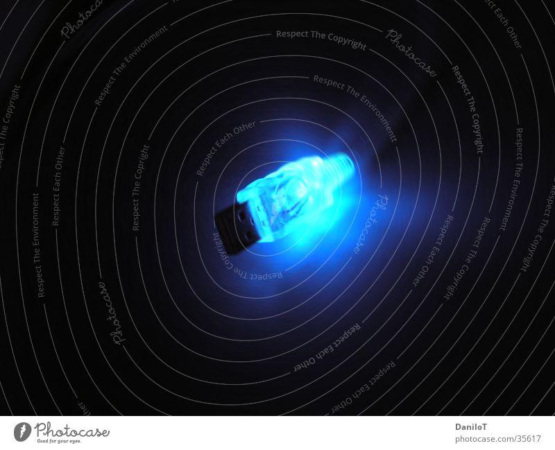 Flying USB II User interface Light Long exposure Cable Blue Illuminate