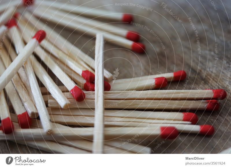 Red matches red matches Match Fire wood matchbox wooden Combustible peril Heat macro Ignite Light Firewood Consistencies Kindling little stick Tongue sticks
