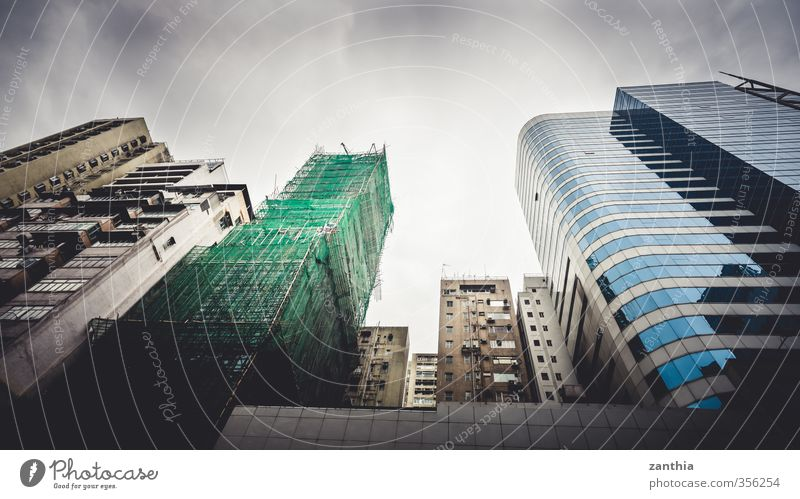 City Building Architecture Moody Fear Business Facade Power Living or residing High-rise Modern Growth Perspective Might Change Asia