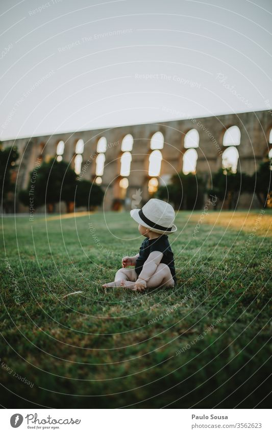 Baby looking at sunset Sunset Travel photography travel Tourism Tourist Vacation & Travel Colour photo Twilight Town Architecture Sightseeing Tourist Attraction
