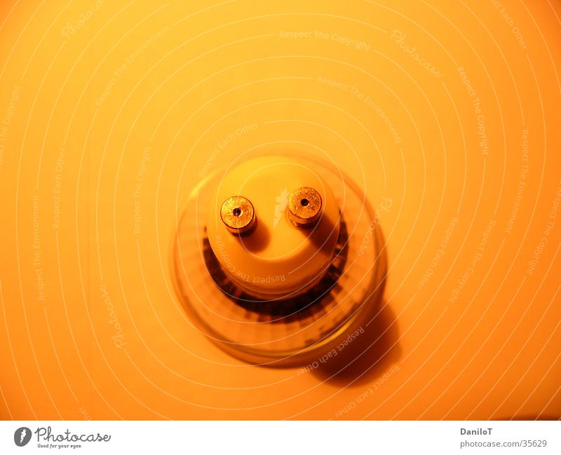 smilie Lamp Light Grinning Long exposure Electrical equipment Technology halogen fun