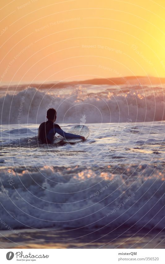 Going out VII Lifestyle Elegant Style Exotic Leisure and hobbies Art Esthetic Contentment Surfing Surfer Surfboard Surf school Ocean Waves Adventure