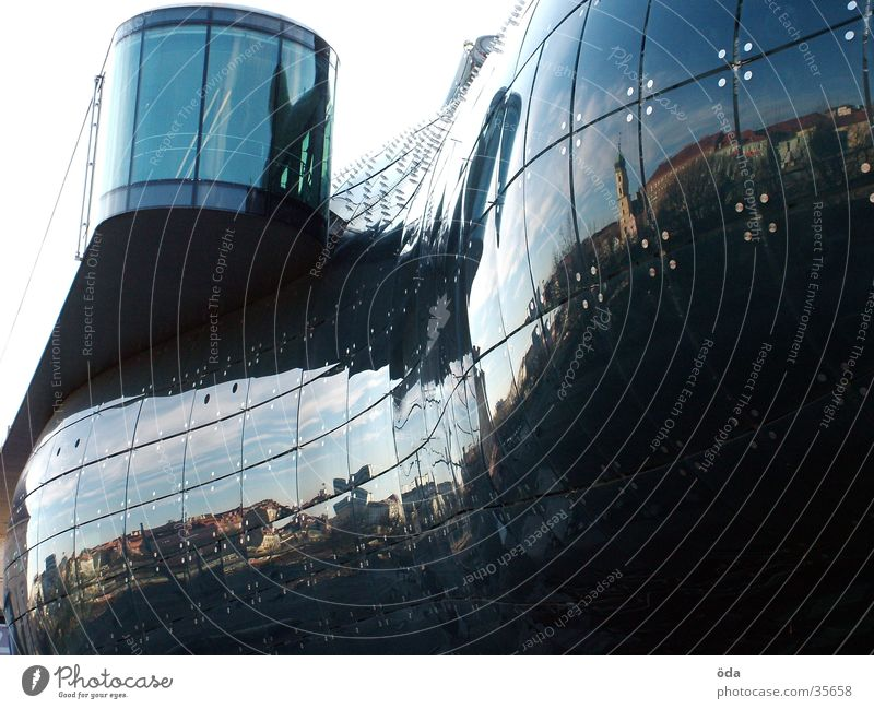 Architecture Glittering Glass Modern Manmade structures Graz Federal State of Styria