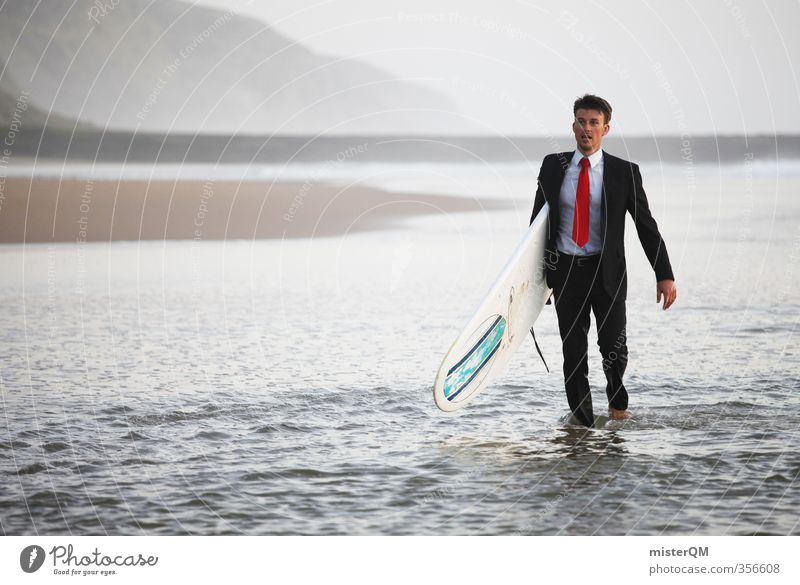Surfer's Walk III Lifestyle Luxury Elegant Style Design Exotic Joy Leisure and hobbies Art Work of art Esthetic Contentment Business Break Vacation & Travel