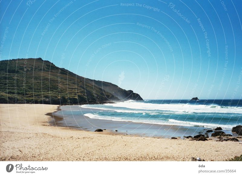 Sun Ocean Beach Loneliness Waves Infinity Bay