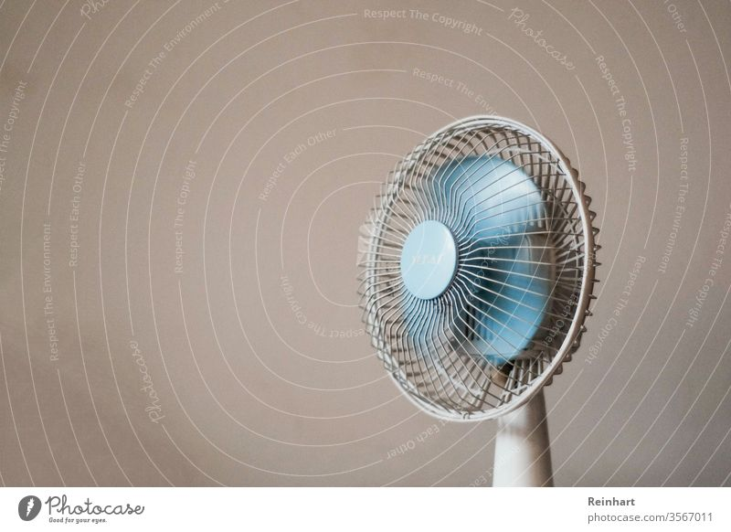 Electric Fan breezy indoor Still Life no people Things tools quiet Room Light nobody interior wall still life objects empty Interior shot no one urban Plastic