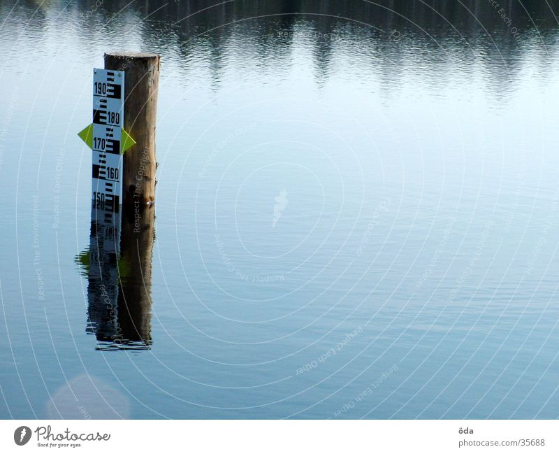 Level #2 Water level Lake Pond Scale Obscure Display