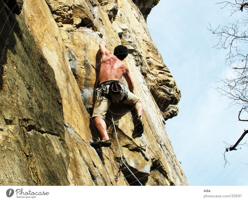 Vacation & Travel Wall (building) Mountain Rope Climbing Direction Belt Loop Mountaineering Express Extreme sports Climbing facility Lead climb