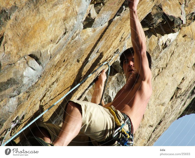 Vacation & Travel Wall (building) Mountain Rope Climbing Direction Belt Loop Express Extreme sports Climbing facility Lead climb