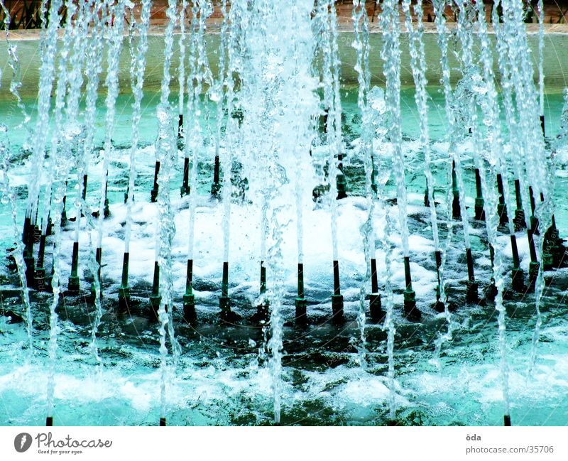 Water Architecture Drops of water Wet Well Radiation Inject Fountain