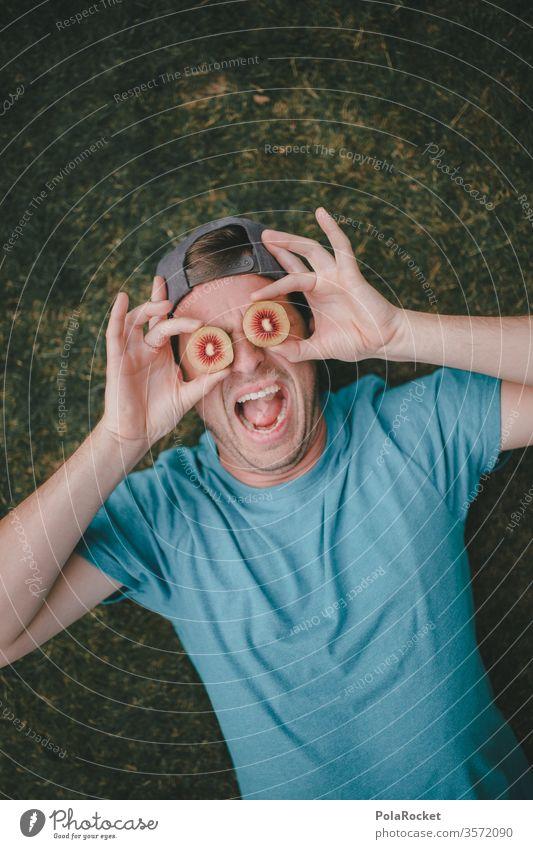 #As# eye-catcher Kiwifruit kiwi fruit Kiwi Ice Cream Crazy go crazy madness flipped out Model Eye-catcher New Zealand Looking batty eccentric Funster Comical
