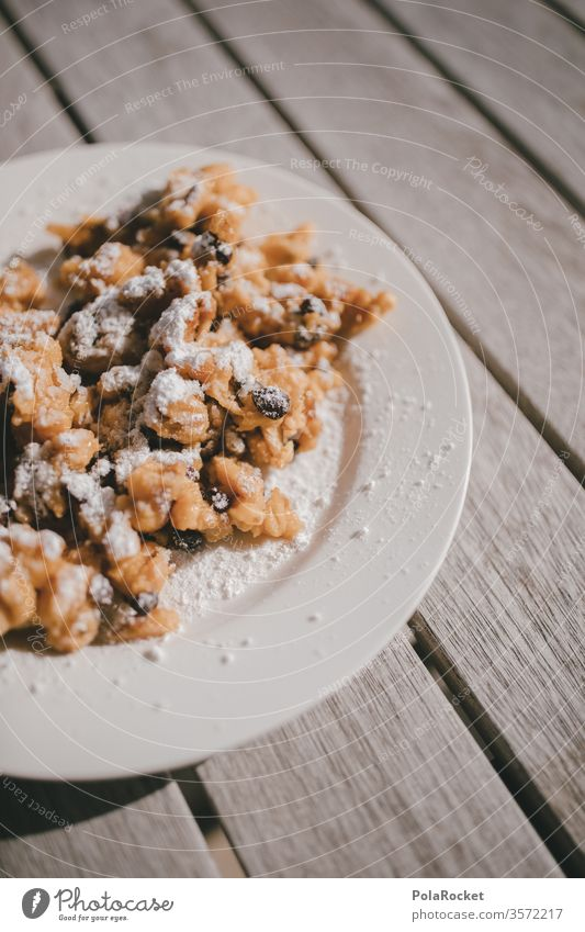 #As# Emperor! Kaiserschmarrn Eating desert Delicious Breakfast Plate Candy Austrian Food Baked goods Dessert Nutrition Sweet Colour photo