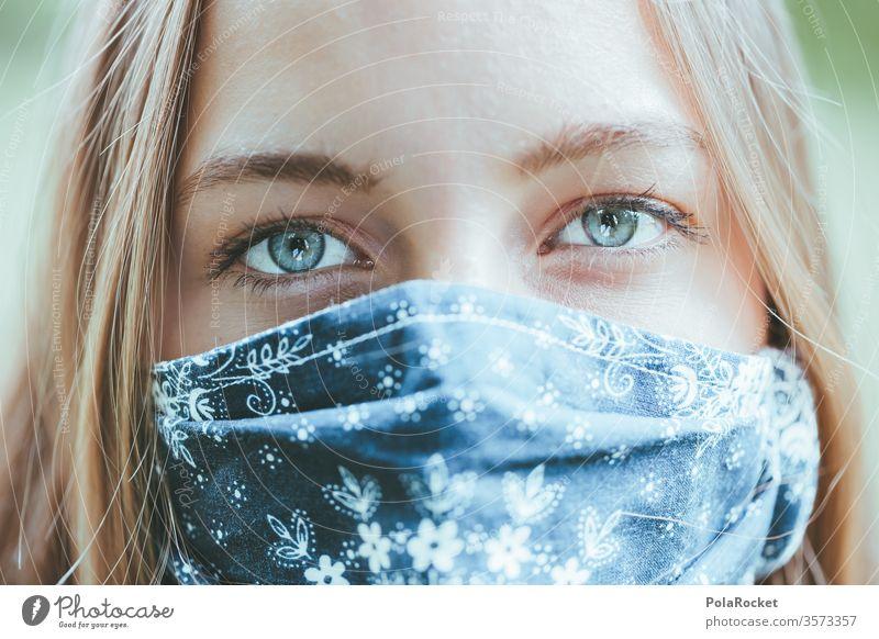 #A10# Woman with mask at Corona time I coronavirus Corona virus corona crisis coronavirus SARS-CoV-2 corona virus Coronary giant covid-19 COVID covid19