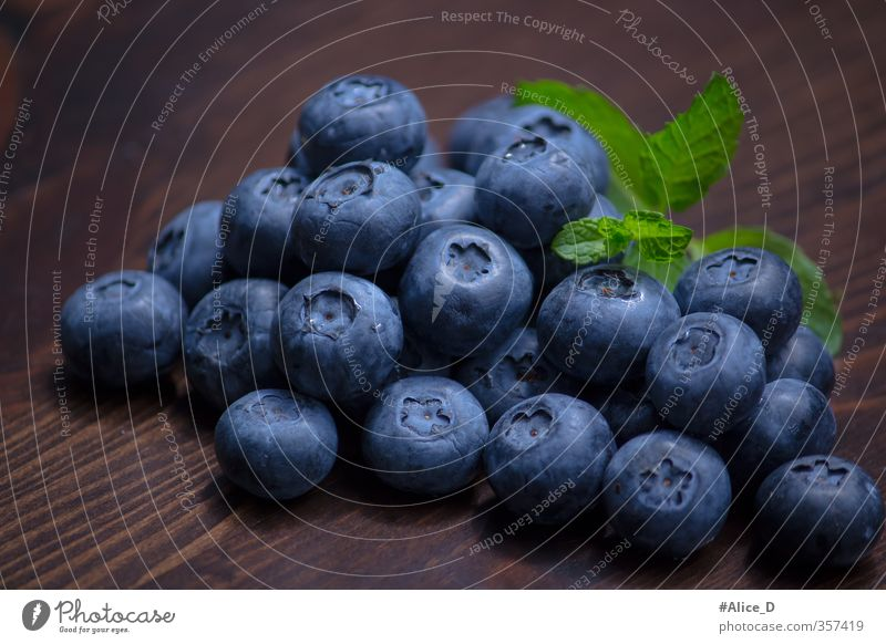 blueberries Food Fruit Dessert Blueberry Healthy Eating Nutrition Breakfast Vegetarian diet Diet Juicy Thin Beautiful Colour photo Interior shot Close-up Day