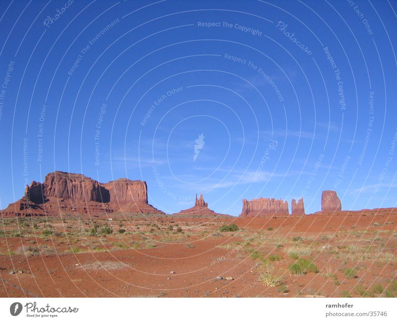 Monumet Valley Vacation & Travel USA Landscape Utha Navajo Tribal Park Sky rock formations Monument Valley