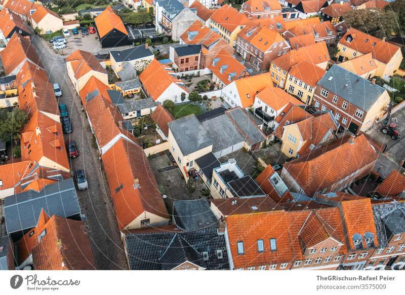 Roofs of Ribe - Denmark House (Residential Structure) house cell Exterior shot Vacation & Travel Tourism Historic Colour photo Day Architecture built