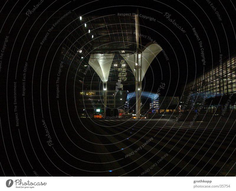 Black Dark Art Architecture Munich Airport Funnel