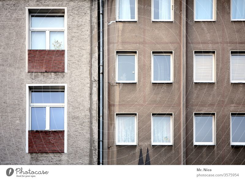 Kölsche I Art in construction Facade House (Residential Structure) Architecture Window Building High-rise Town Living or residing cathedral points Cologne