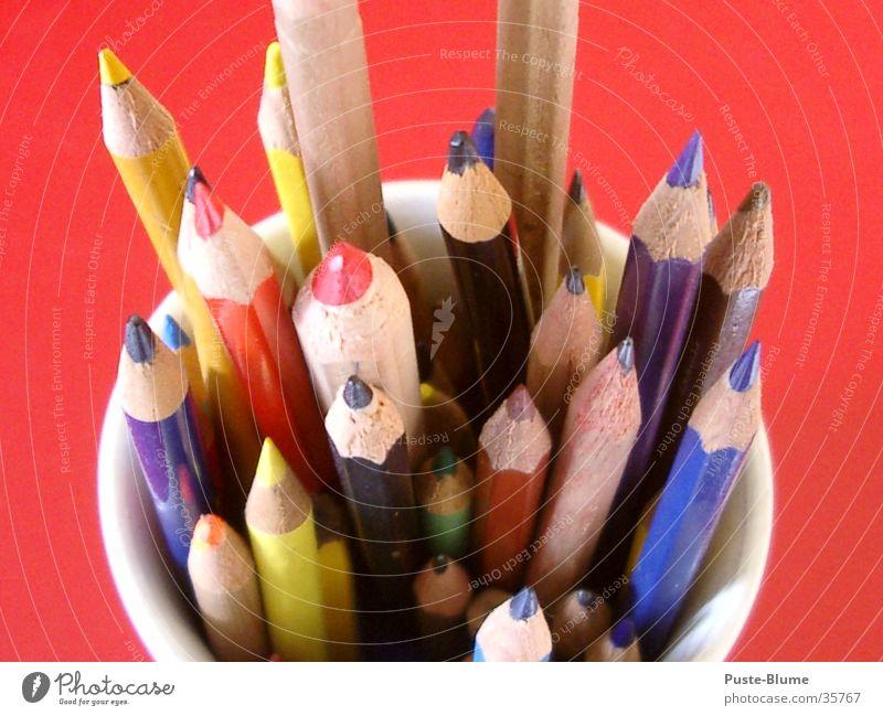 crayon Crayon Pen Wood Pencil Red Colour Draw
