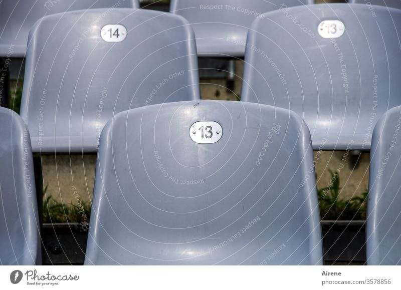 artistic grey area Theatre Empty chairs Seating capacity Audience interdiction performance Opera Concert Free series Chair rows Gray thirteen fourteen 13 14