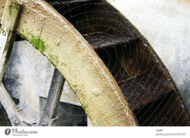 Turn the wheel, turn the wheel! Mill Water wheel Brook Archaic Rotate Wood Industry Nature