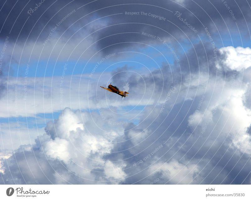 Sky Sun Blue Clouds Landscape Graffiti Airplane Aviation Sailing Thunder and lightning