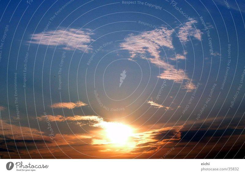 Nature Sky Sun Blue Summer Winter Clouds Air Dusk