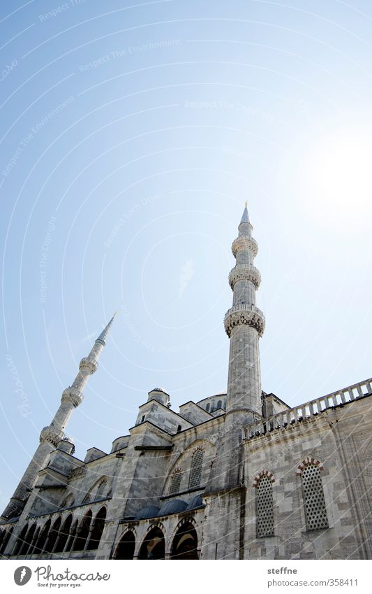 Esthetic Church Landmark Tourist Attraction Turkey Istanbul Islam Mosque Blue Mosque