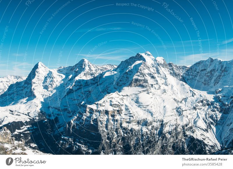 snowy swiss mountains Mountain Snow Switzerland reed horn Winter Sky Alps Panorama (View) Vantage point Ice chill Exterior shot Landscape Peak Snowcapped peak