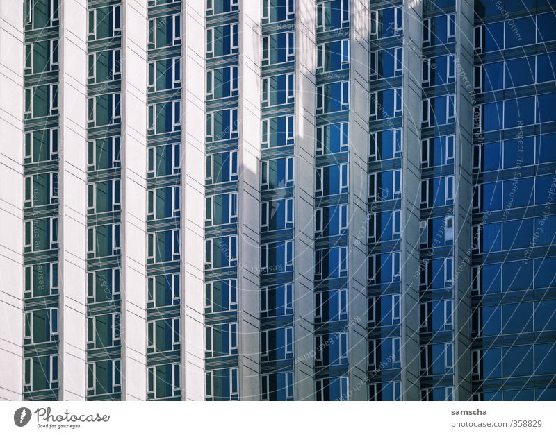 City House (Residential Structure) Window Wall (building) Architecture Wall (barrier) Building Business Work and employment Facade Large High-rise Tall Tower