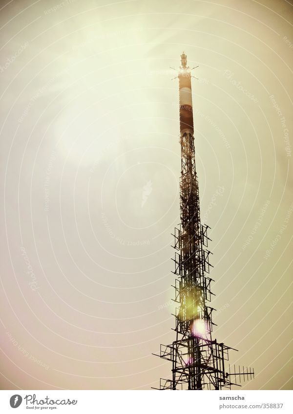 City Modern Communicate Future Technology Telecommunications Tower Manmade structures Cellphone Science & Research Radiation Information Technology