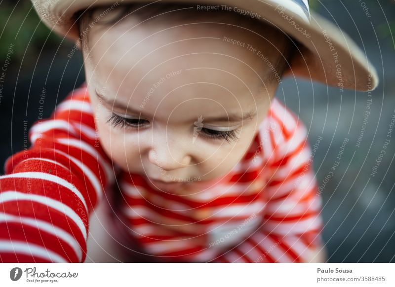 Baby Boy with red shirt and hat Boy (child) Red Toddler Child Infancy Face Playing Cute Multicoloured Human being Small Joy Happy Delightful Hat preschooler