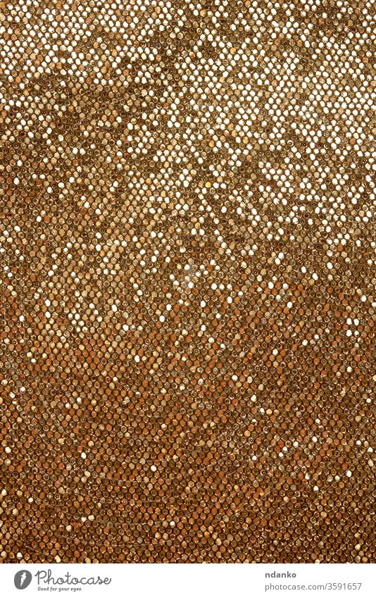 golden leather shiny texture for sewing haberdashery abstract backdrop background bag blank bright brown closeup color crease dazzling decor decoration