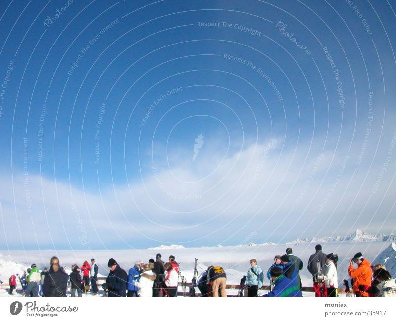 Sölden_Panorama Skiing Austria Panorama (View) Sports Mountain Large