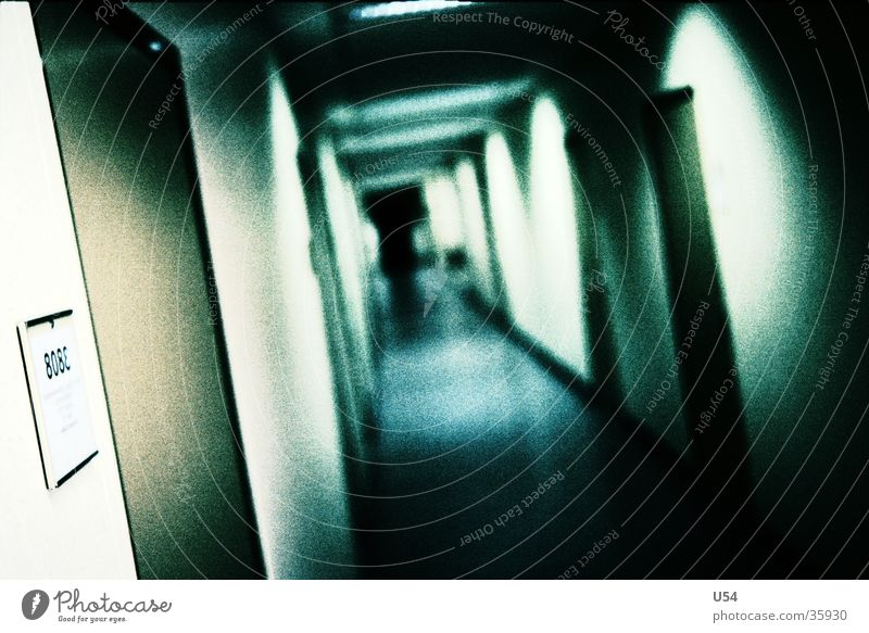 House (Residential Structure) Office Building Work and employment Door Infinity Hallway Tilt Corridor Photographic technology