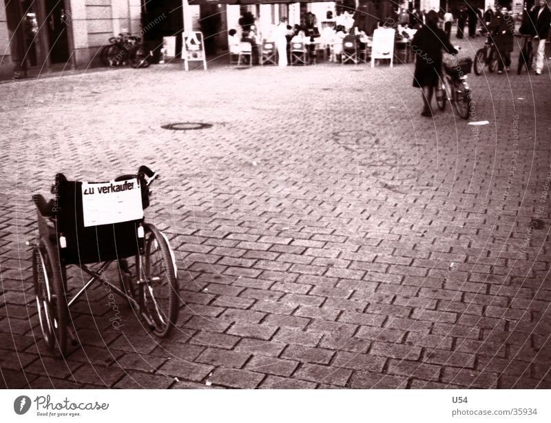 Berlin Places Mobility Store premises Obscure Sell Comfortable Wheelchair Health care