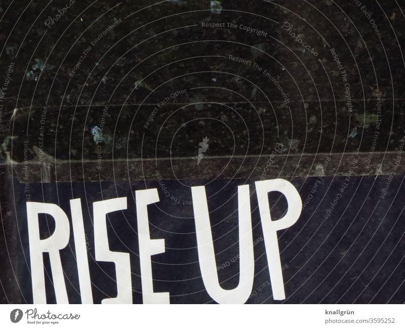 Rise up Occur Indignation Movement Arise Wake up Sun Emotions Energy Sunrise Letters (alphabet) Word leap Characters Typography Language Latin alphabet letter