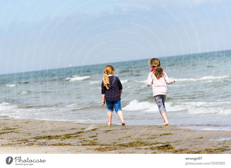 Favourite person(s) | holiday with the grandchildren at the German Baltic Sea coast topic day favourite person Grandchildren Granddaughter vacation in common