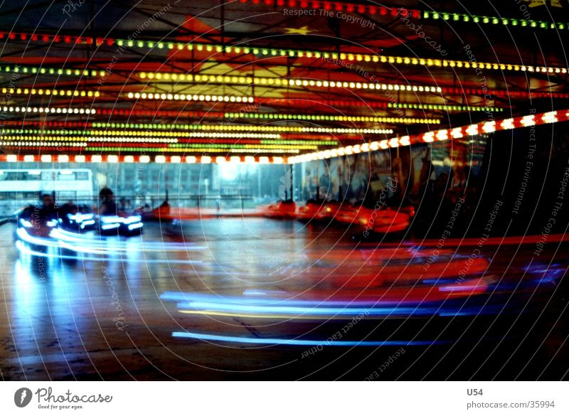 Another round... Bumper car Fairs & Carnivals Leisure and hobbies bang Joy Light Blur